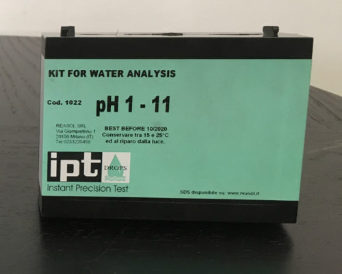 Kit Analisi Acqua Ph 1-11