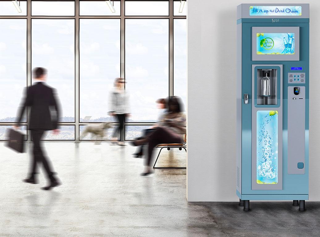 Kalla Erogatore acqua per aziende, hotel e aree pubbliche | DEPURTECNICA
